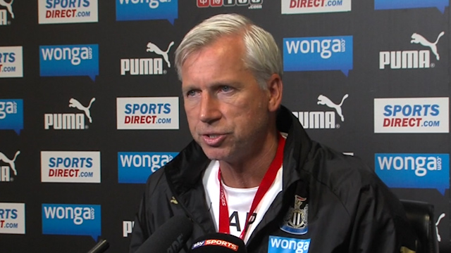 Alan Pardew: I Did Not Discuss My Future with Mike Ashley