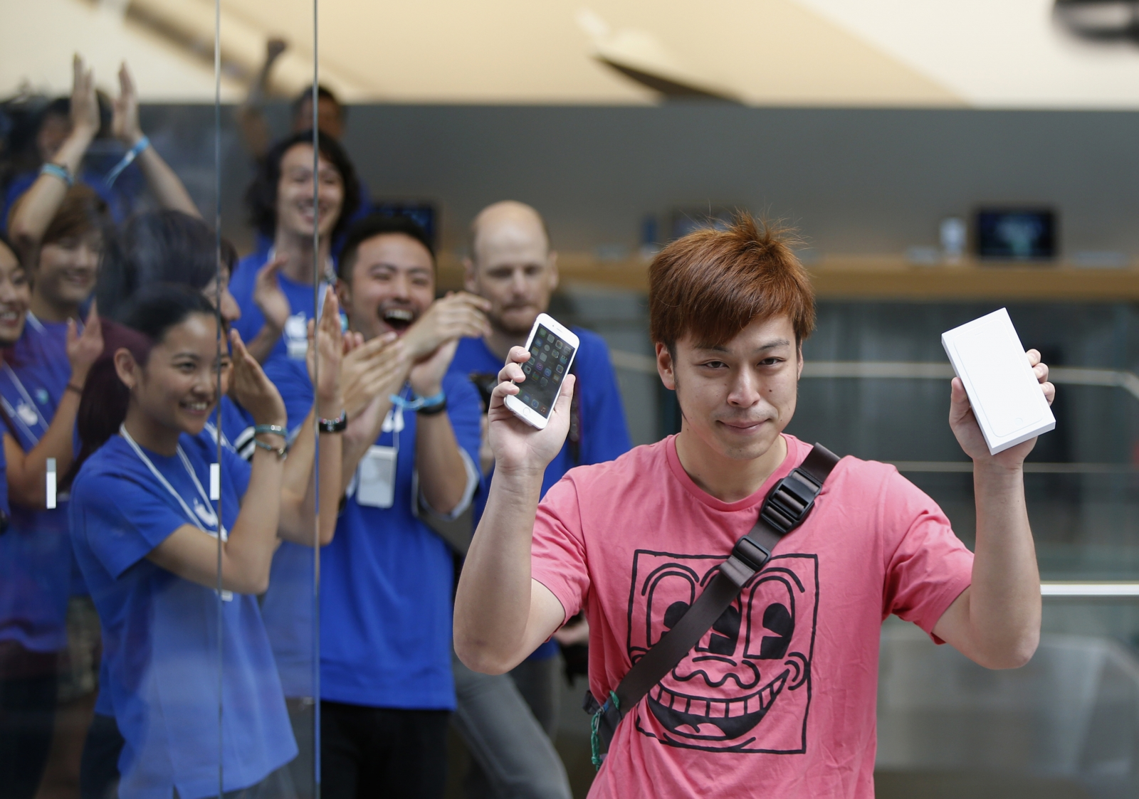 iphone 6 plus launch