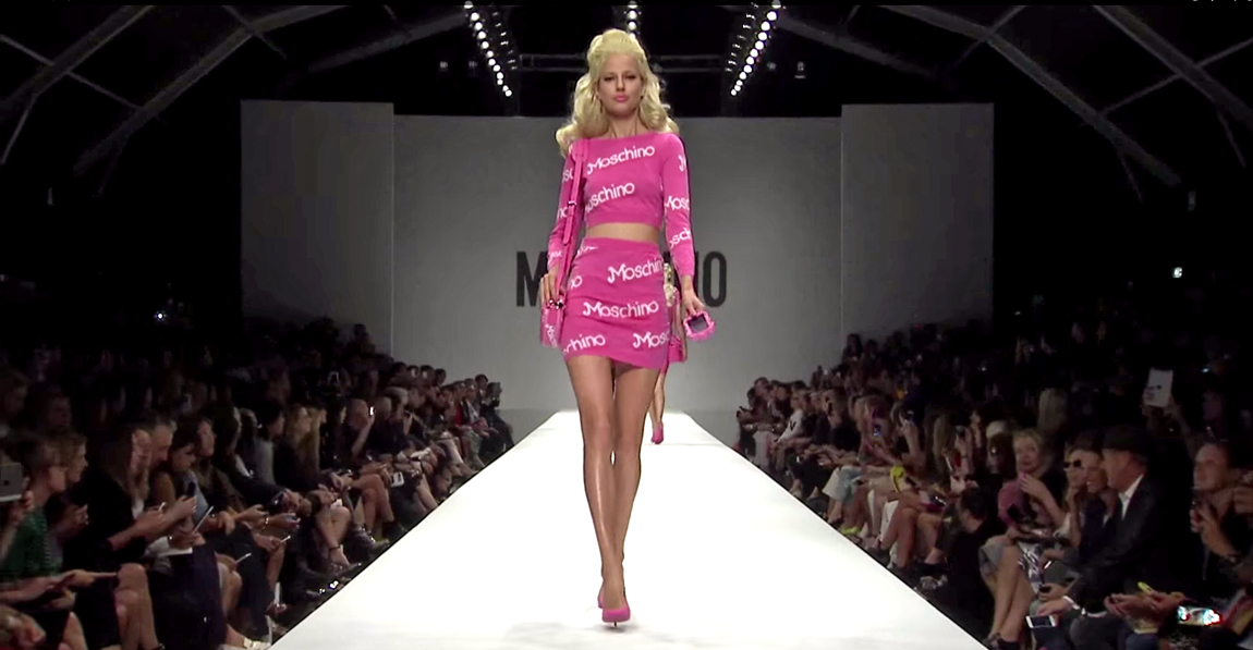 Moschino Barbie Fashion Show Milan Fashion Week
