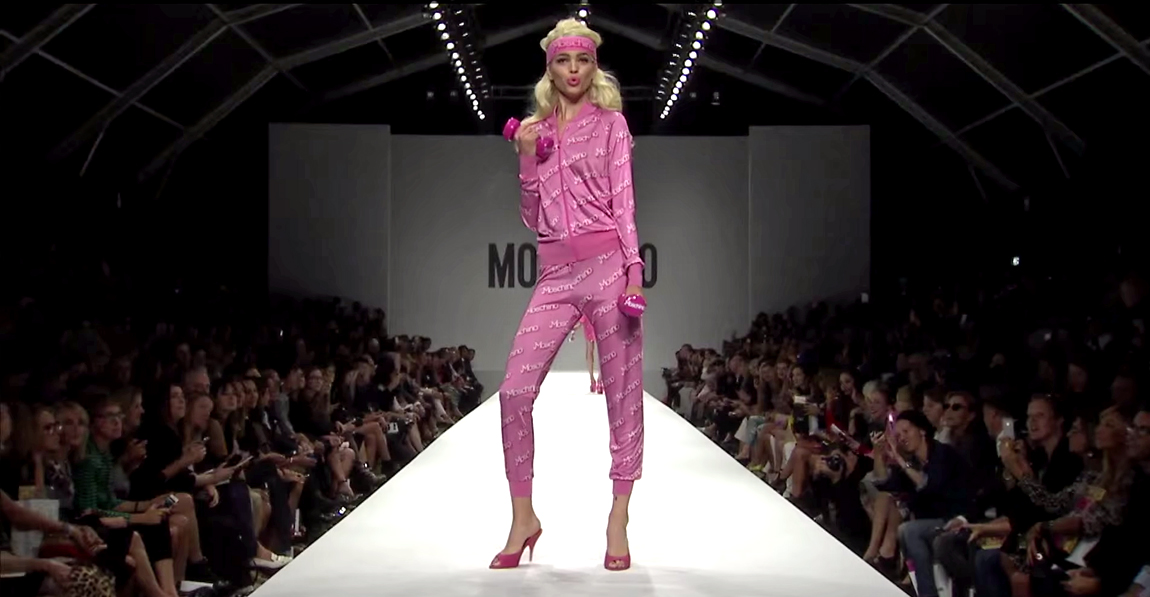 Moschino Barbie Fashion Show 2