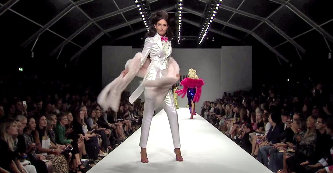 Moschino Barbie Fashion Show 18