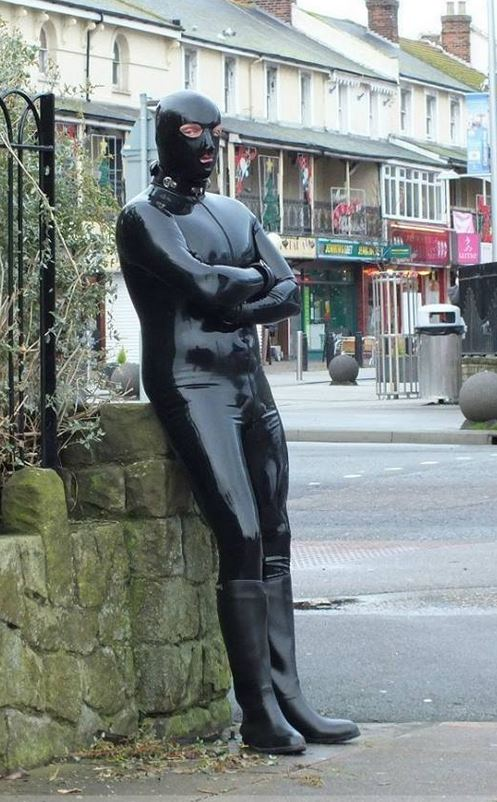 Gimp Man says he keeps his identity secret because his wife and    Gimp Man