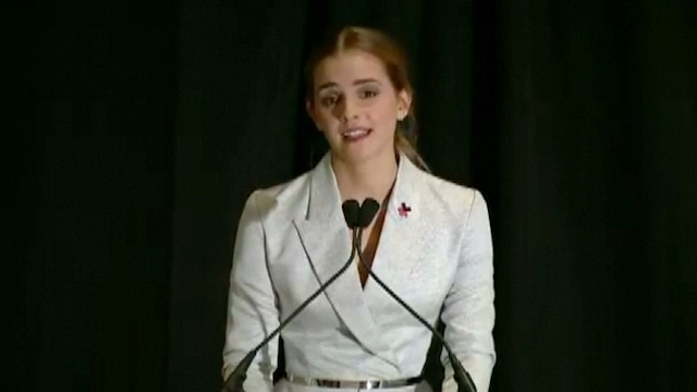 Emma Watson Gives Rousing Speech on Women's Rights to the UN
