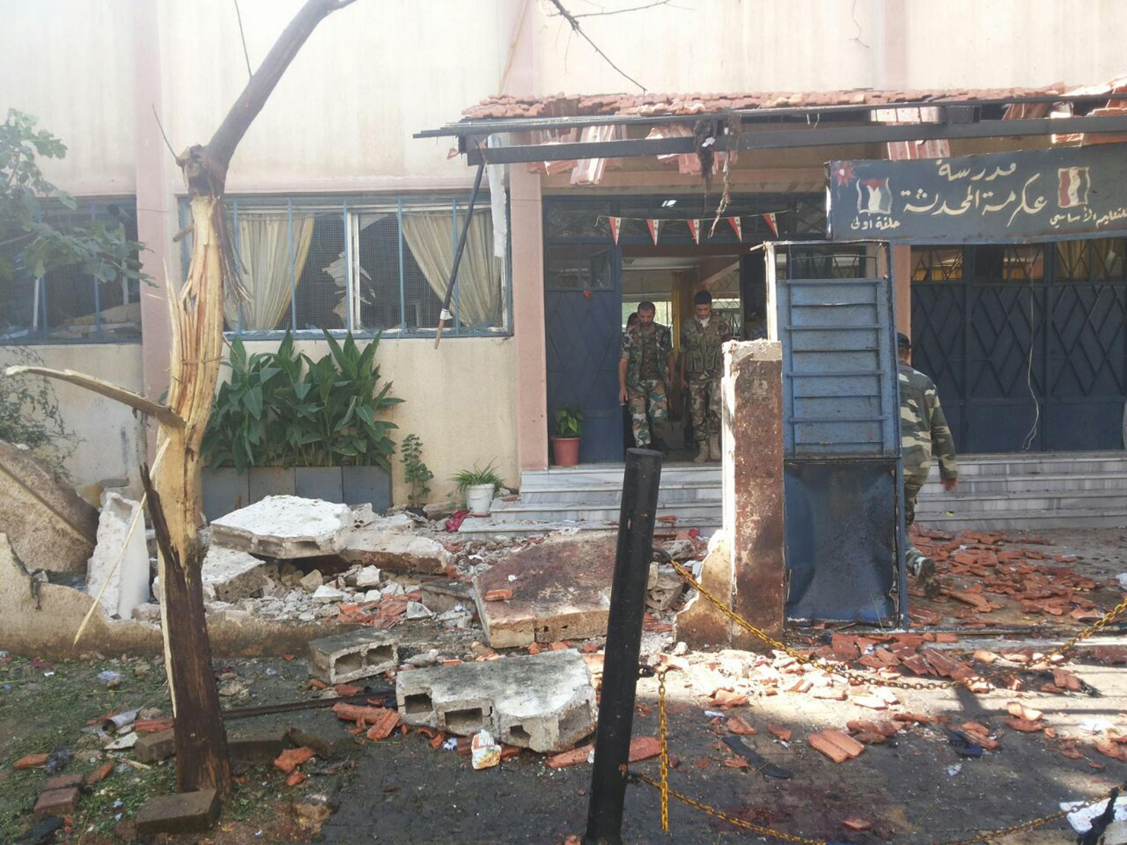 Two Blasts Kill at Least 18 in Syrian City of Homs