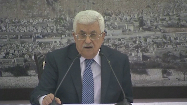 Abbas: Draft Resolution to End Israeli Occupation Submitted to UN
