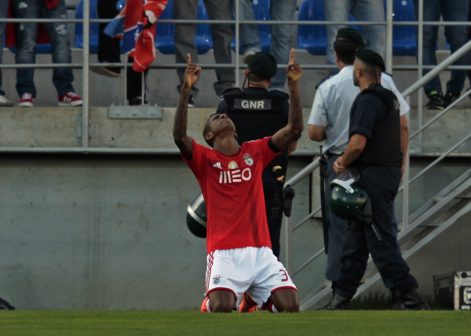 ... Benfica Star Anderson Talisca and FC Basel Defender Fabian Schar