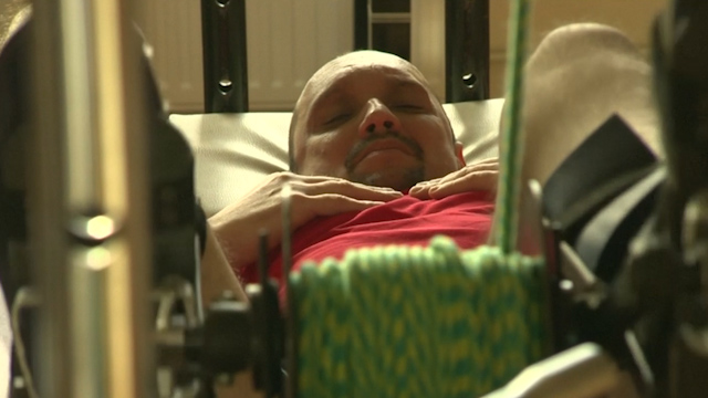 Cell Transplant Helps Paralysed Man Walk with Frame