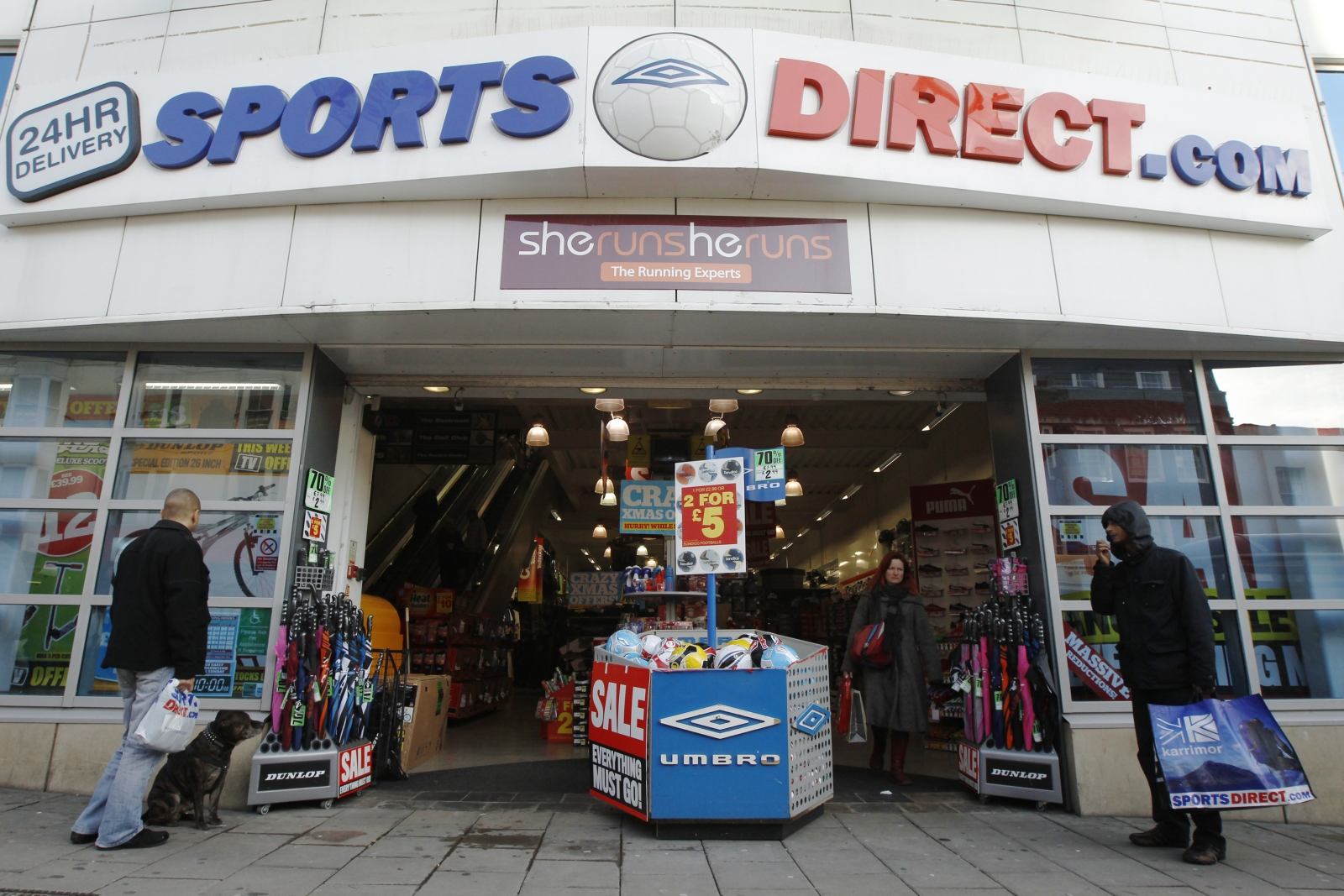 Does Sports Direct Have Changing Rooms