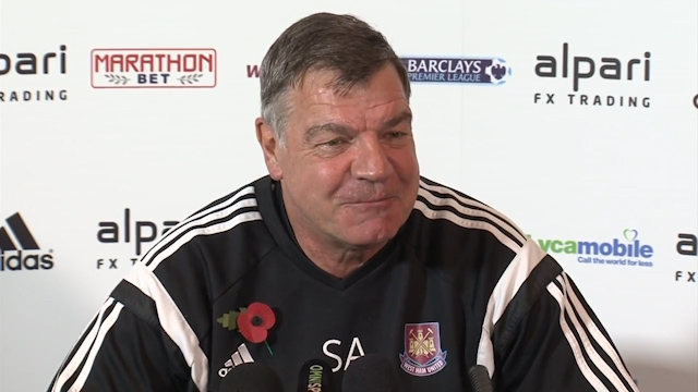 Allardyce: Grappling is a Wrestling Move
