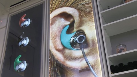 Custom 3D-Printed Earphones on Offer at New York Store