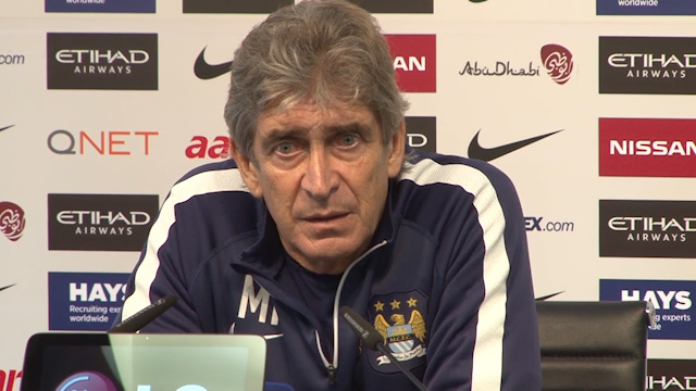 Manuel Pellegrini on Facing Manchester Utd