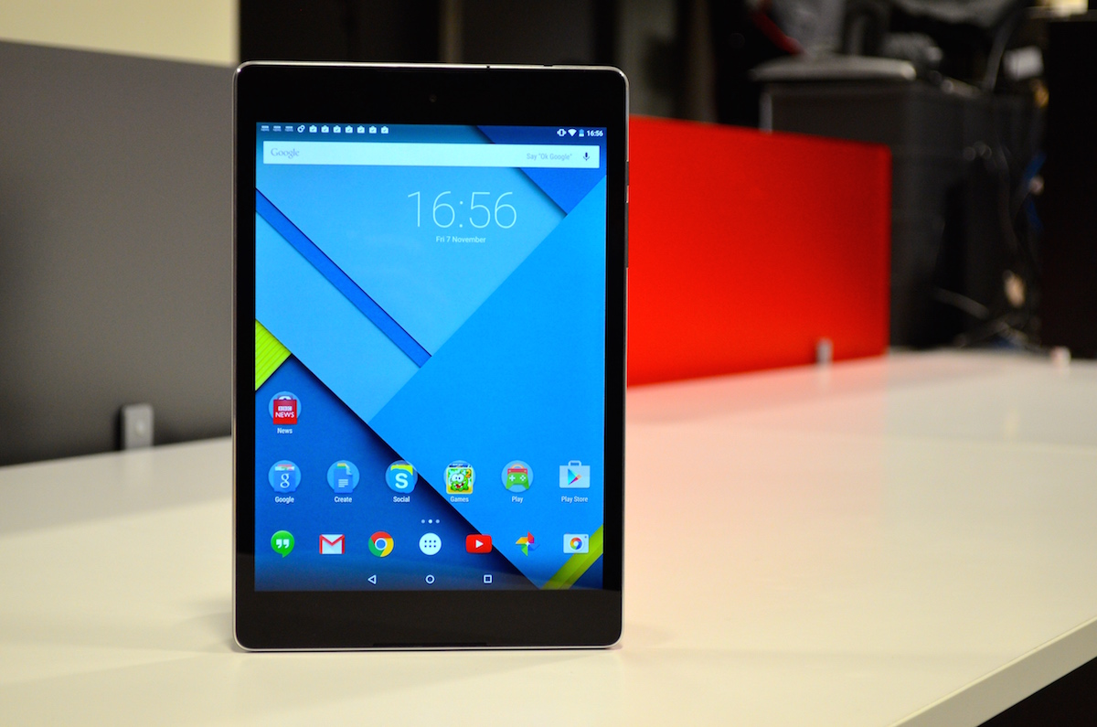 Google Nexus 9 Review: Meet The First Android 5 Tablet