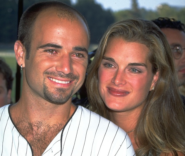 "Andre Agassi ""destroyed his trophy collection"" over Brooke Shields' on-screen flirting with Matt LeBlanc in Friends"