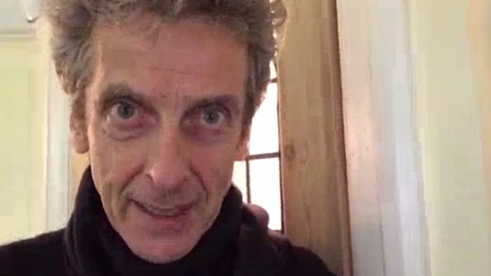 Doctor Who: Peter Capaldi Sends Heartfelt Video Message to Autistic Fan