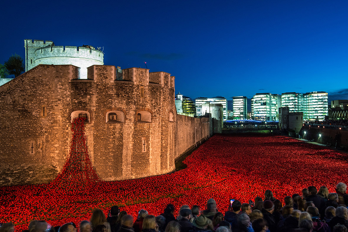 Images of Inside The Tower of London Tower of London Poppies