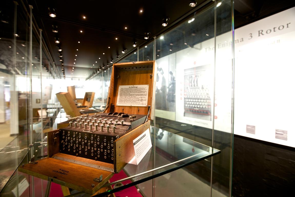 An Enigma machine  Enigma Machine Message