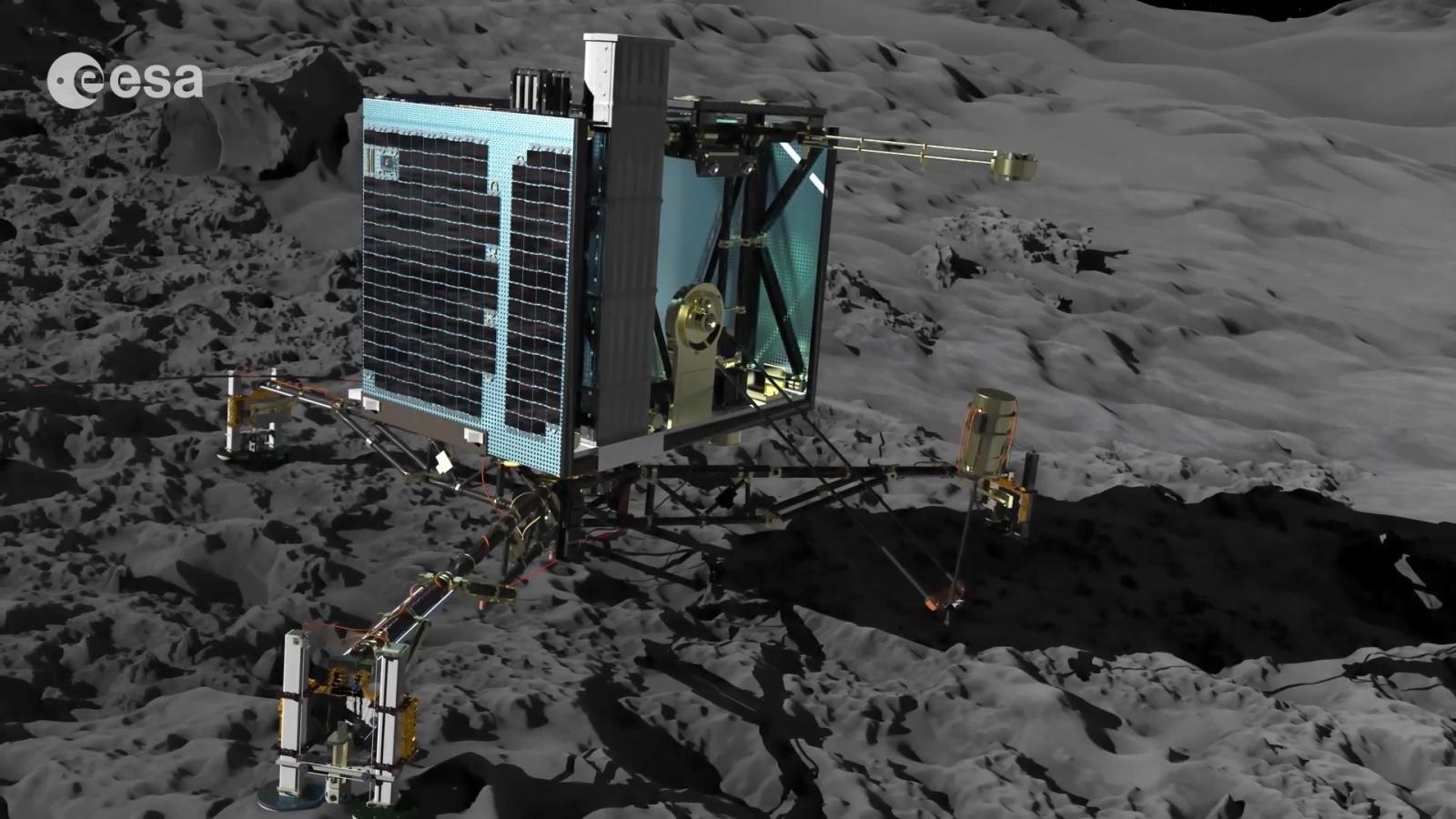 How Rosetta Spacecraft Will Attempt Comet Landing