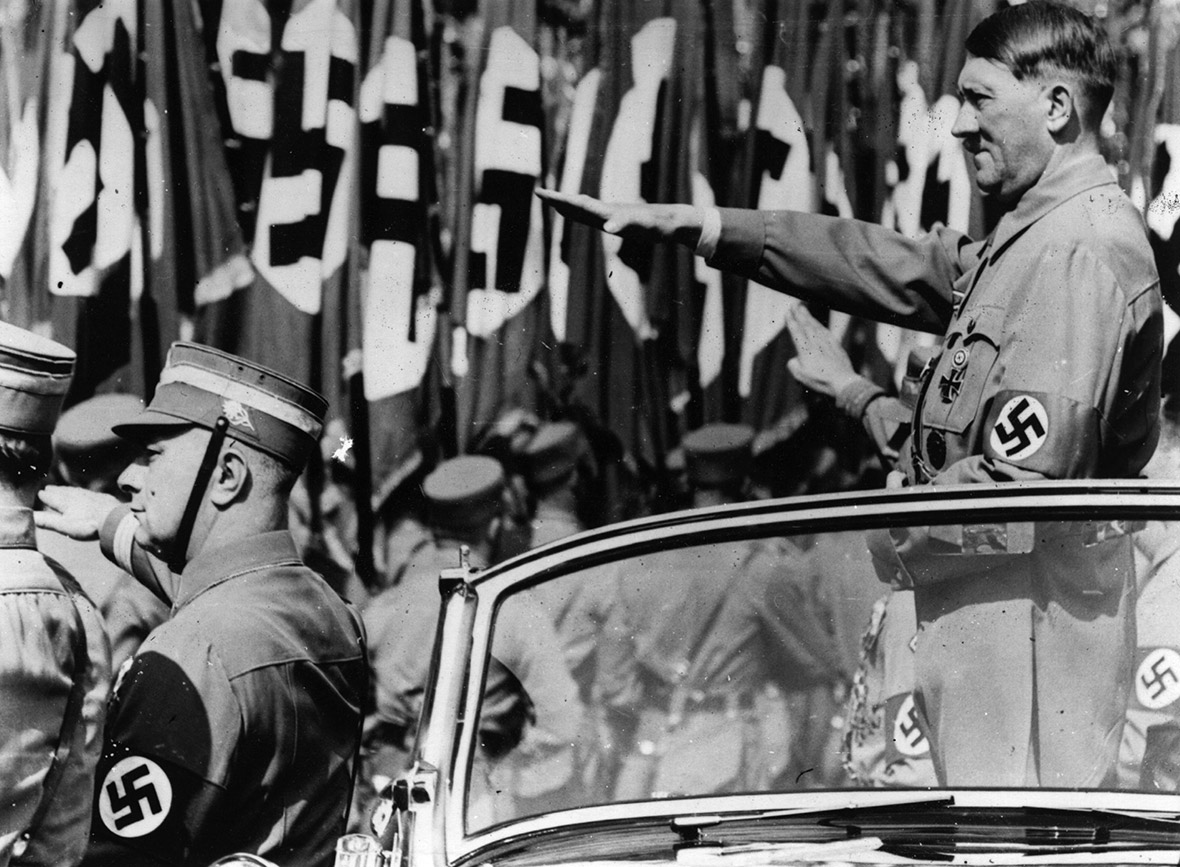 Nazi Nightmares Make Germans Fearful Of Doing An Edward