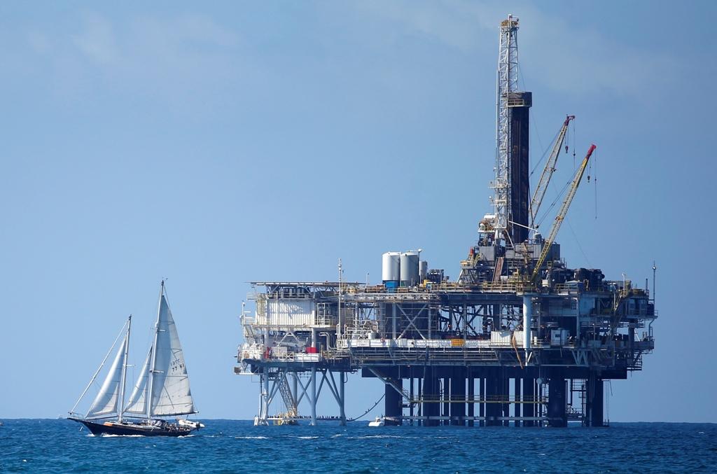 OFFSHORE OIL RIG CALIFORNIA US