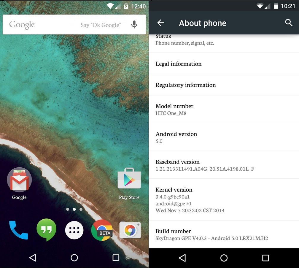 [ROM HTC ONE M8] LOLLIPOP   SkyDragon Google Play Edition v4.0.0    6.20.709.2 [24/04/2016] Android-5-0-lollipop