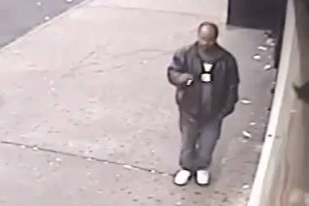 Police in New York are hunting this man after subway push death of Wai Kuen Kwok