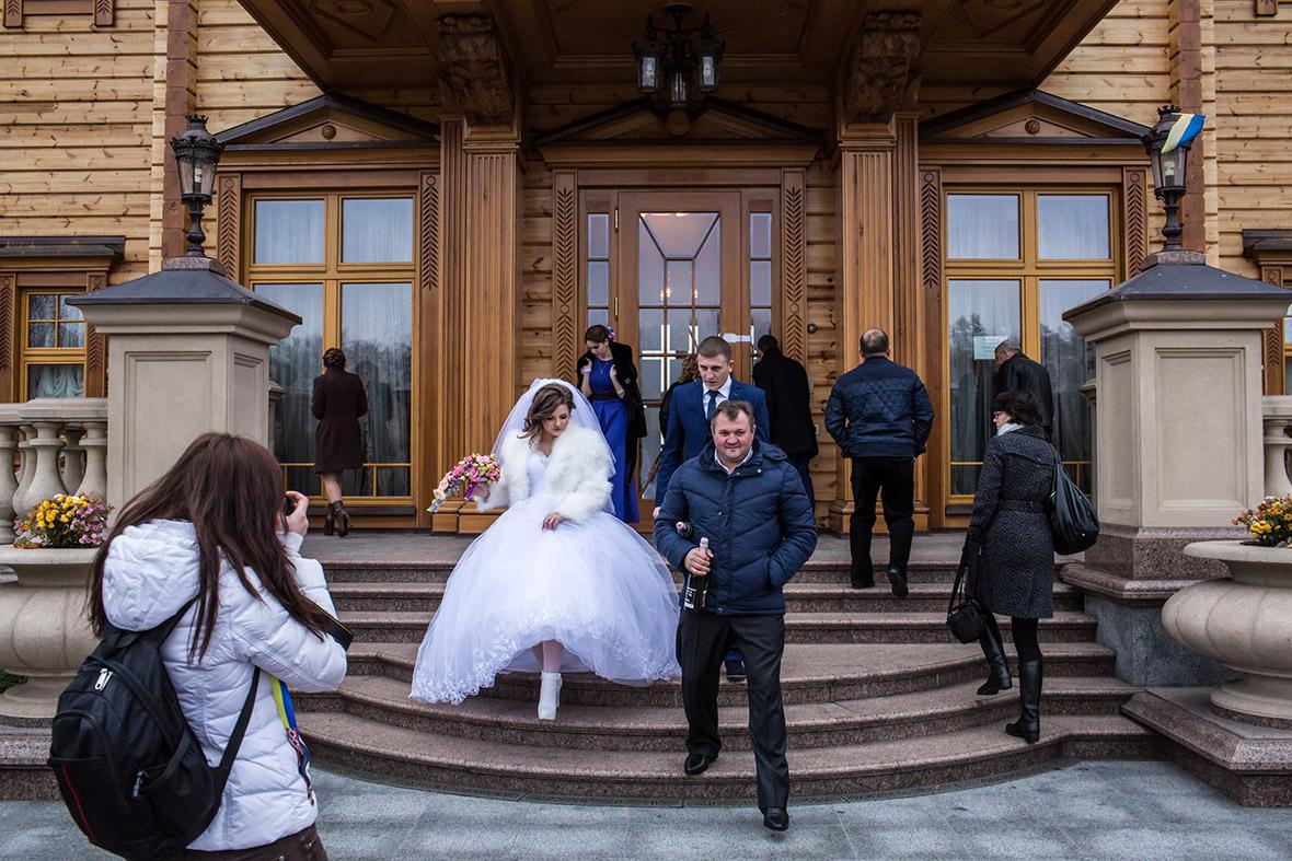 Свадьба в резиденции Януковича