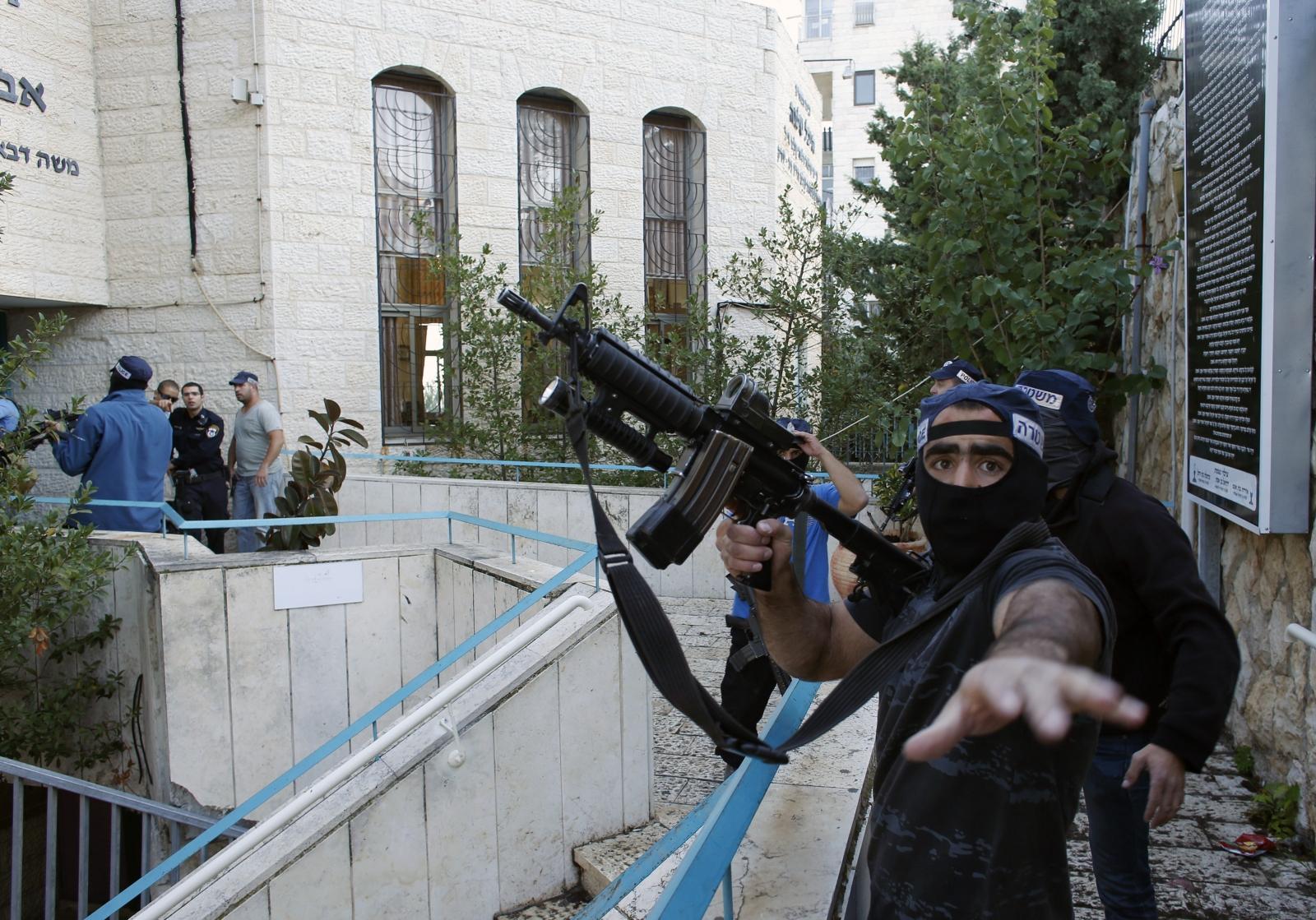 Jerusalem Attack Synagogue Israel Palestine Terrorism