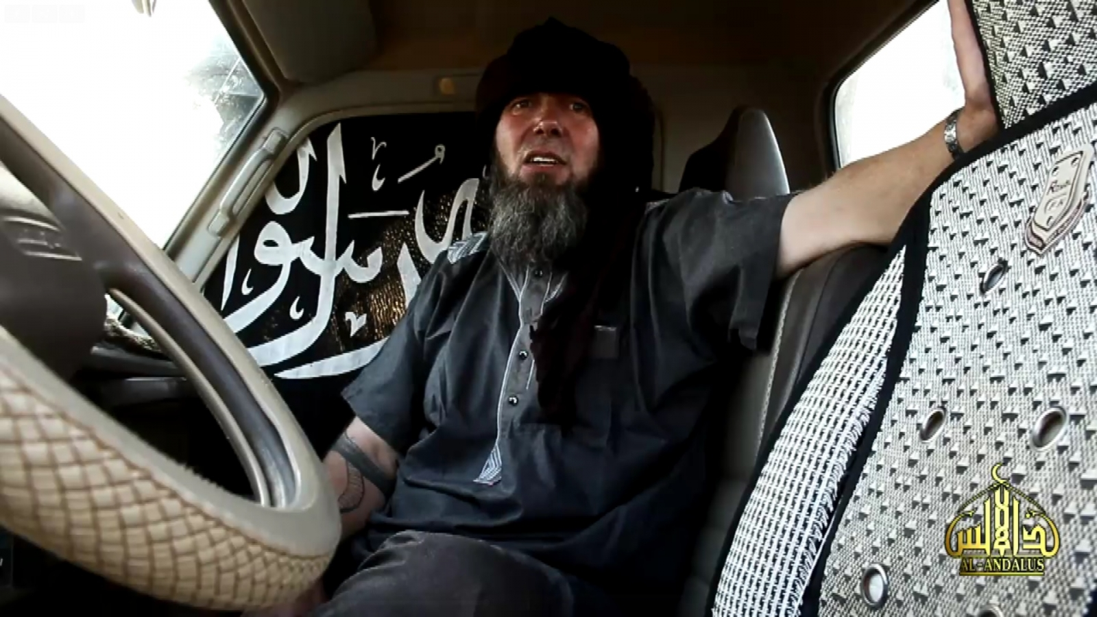 French hostage Serge Lazarevic AQIM al-qaeda Video