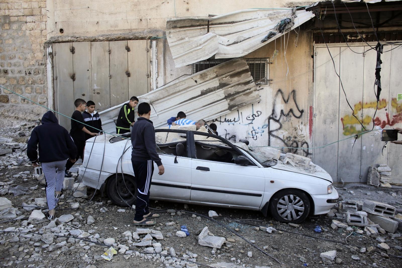 Abed Abdelrahman Shaludeh Home East Jerusalem demolition