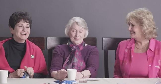 Grandmas smoking marijuana