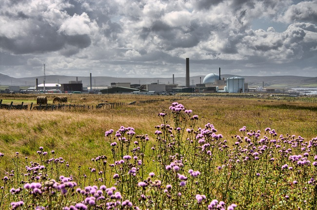 Dounreay Nuclear Reactor Fire