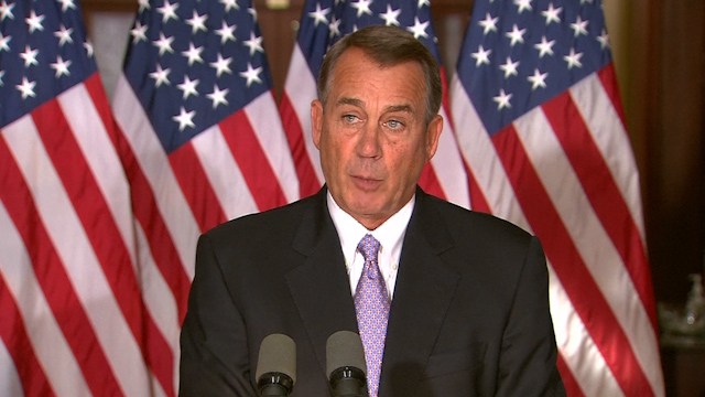 Boehner: US House will Fight Obama's Immigration Action