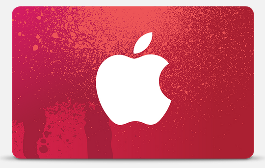 Apple Black Friday Gift Card