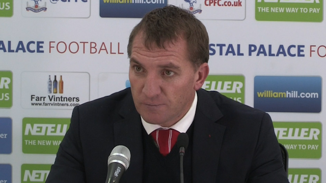Rodgers Takes Responsibility for Poor Liverpool Results