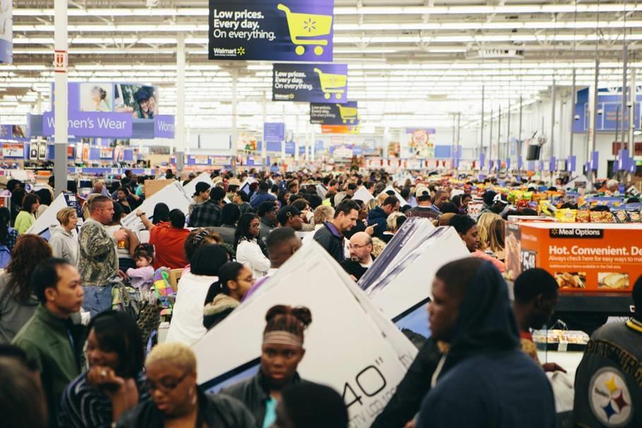Black Friday Walmart death