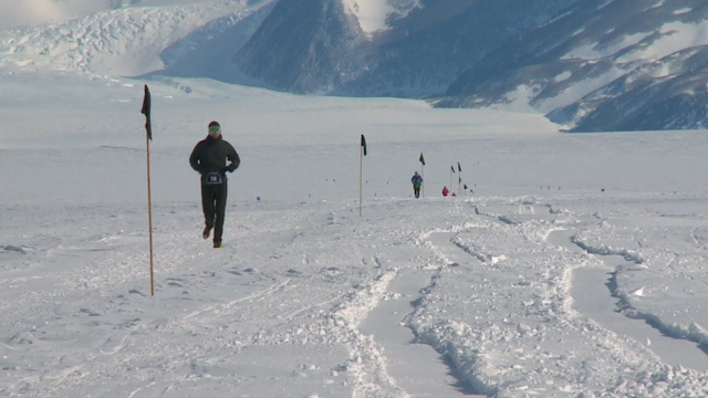 Athletes Brave Sub-Zero Temperatures for Antarctic Ice Marathon