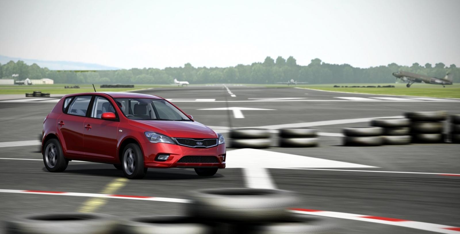 Kia Cee'd Forza 5 Top Gear