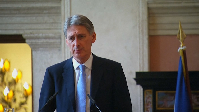 Philip Hammond Condemns Kabul Embassy Vehicle Blast