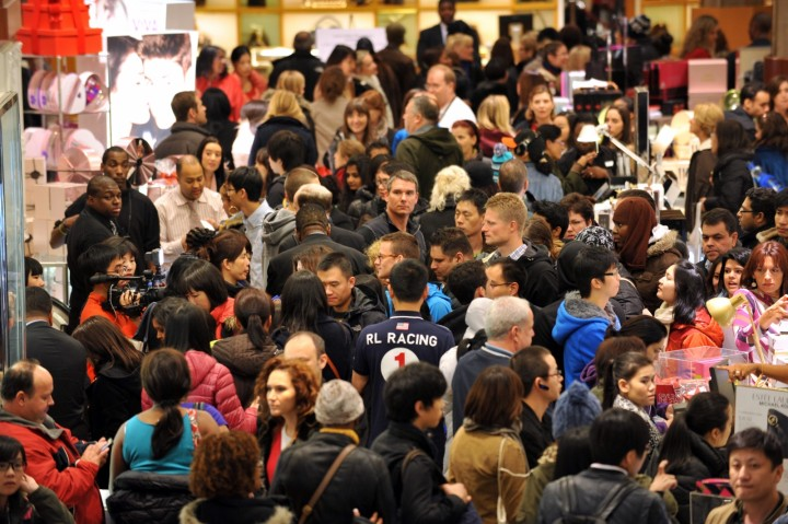 Shopping Chaos as Black Friday comes to Britain