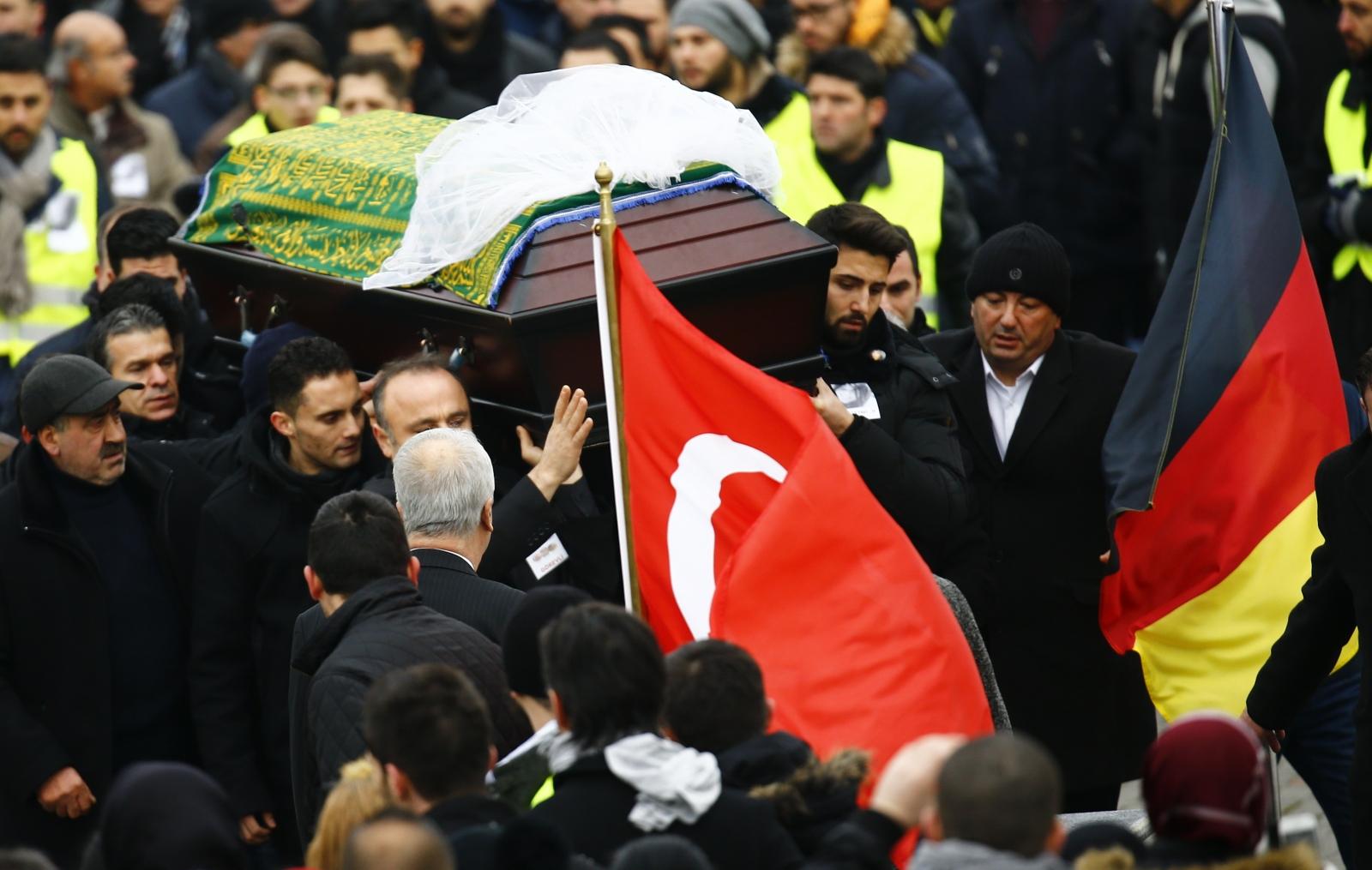Tugce Albayrak Funerals McDonald's attack Germany