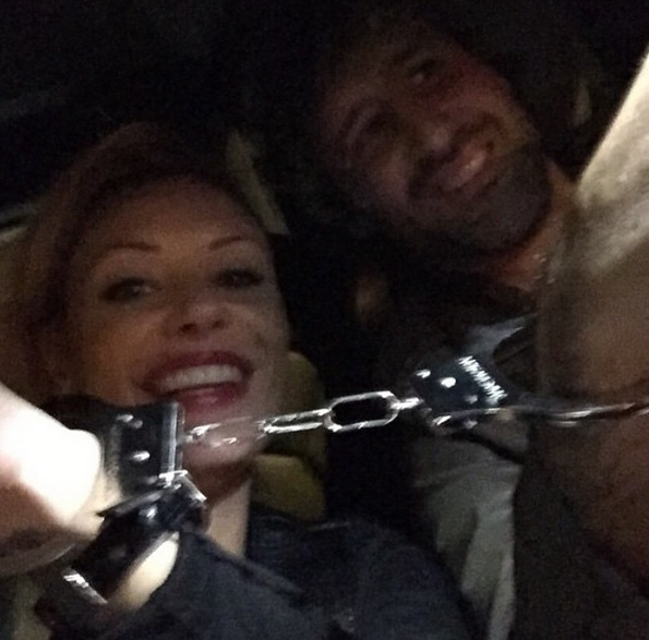 Italian Football Star De Rossi ex-Wife Tamara Pisnoli in Handcuff Selfie after Kidnapping Arrest
