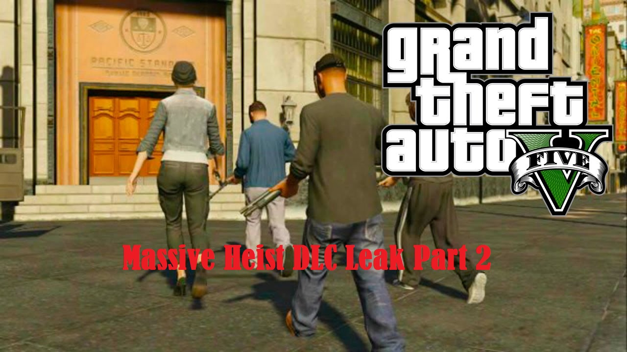 GTA 5 Online Heist DLC leak (part 2): New clothes, cars, weapons and CCTV apartments revealed
