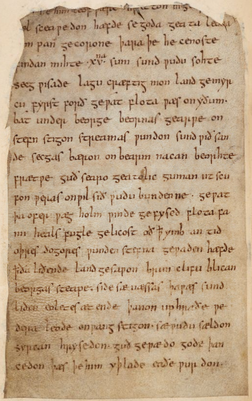 the description of the most heroic man of the anglo saxon times in beowulf Concepts of leadership beowulf: the heroic, the monstrous, and anglo-saxon beowulf the young man—beowulf the thane the heroic ideal, and the anglo-saxon.