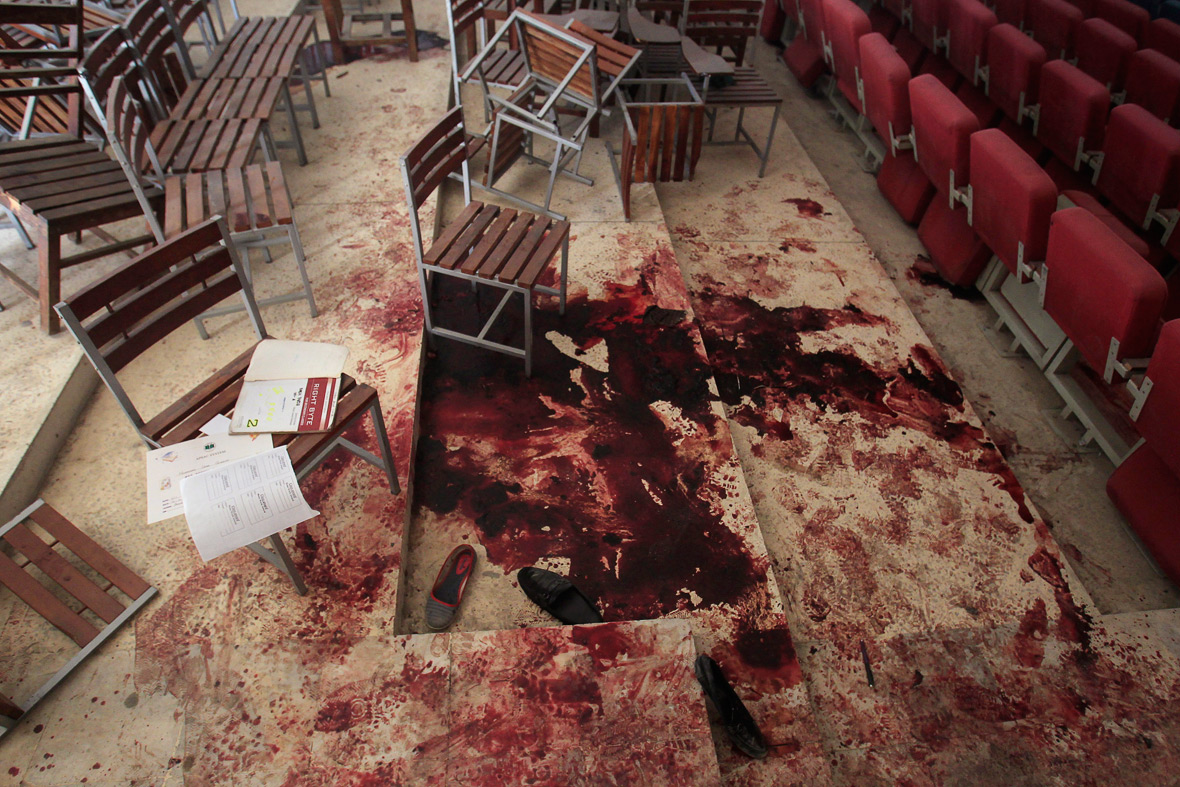 Peshawar school massacre aftermath first photos show for Inside unrated