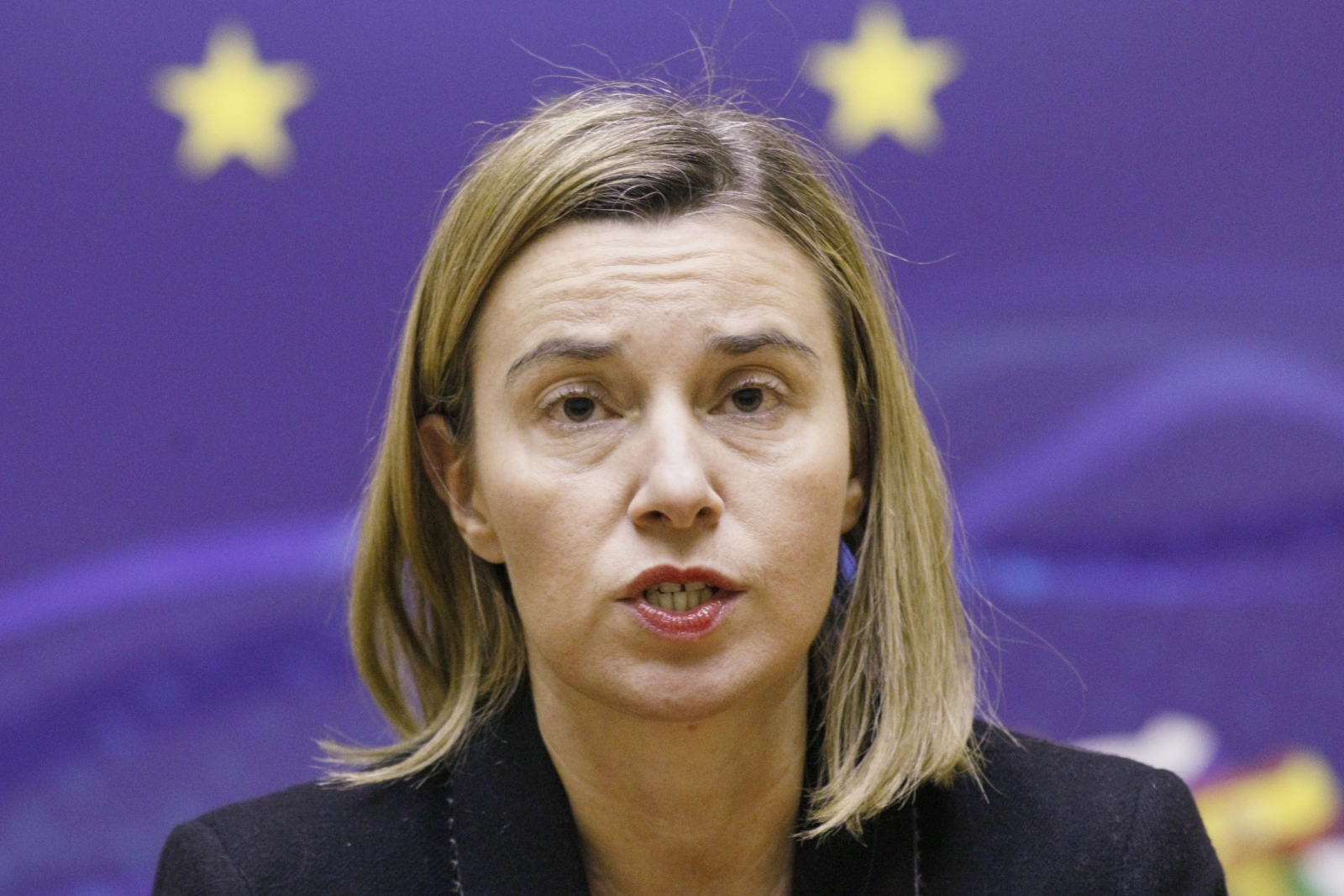 EU's Mogherini detects some 'willingness' from Russia to resolve Ukraine conflict
