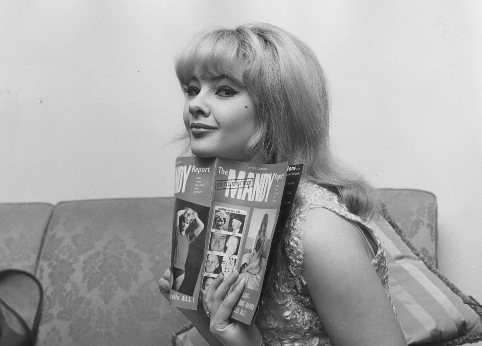 Mandy Rice-Davies net worth salary