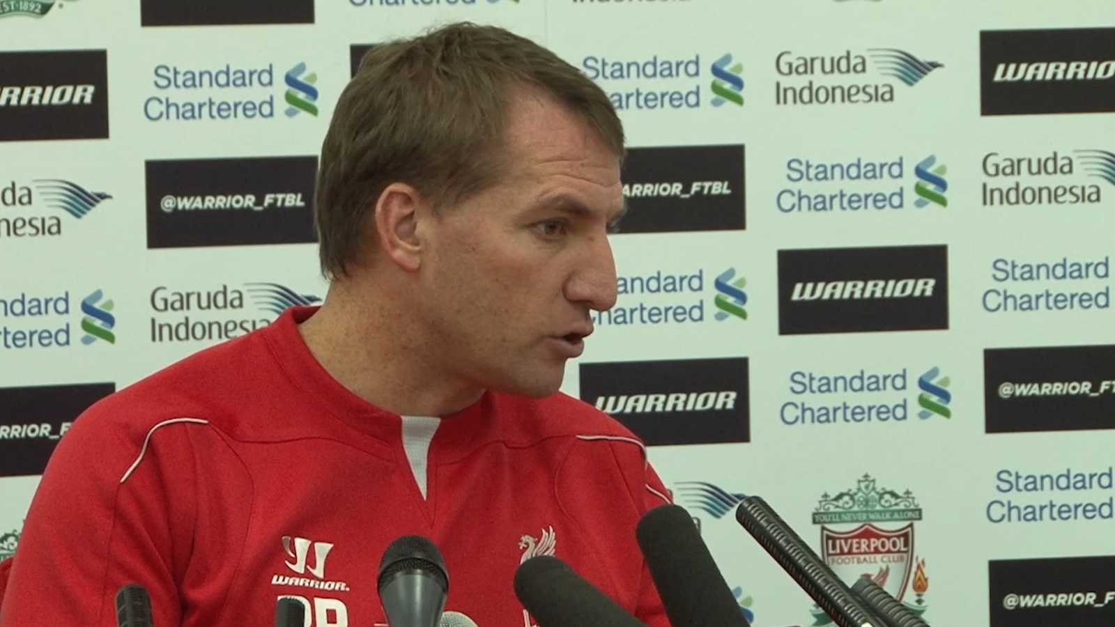 Brendan Rodgers: Balotelli doesn't suit Liverpool style