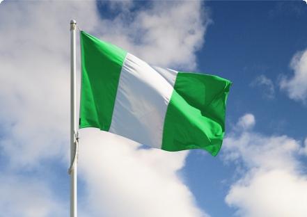 nigeria flag bitcoin