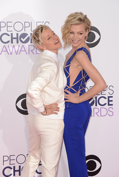 Ellen Degeneres Portia Rossi Wedding Rings