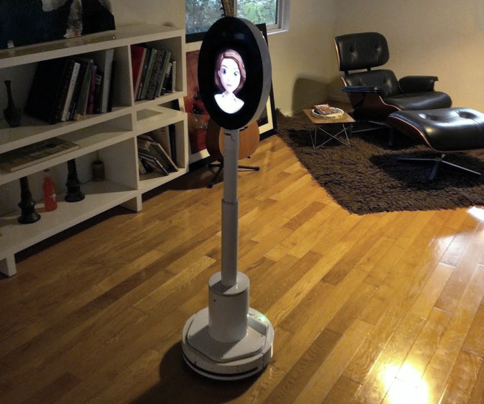 world 39 s first artificial intelligence personal robot developed by us startup robotbase. Black Bedroom Furniture Sets. Home Design Ideas